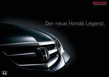 Der neue Honda Legend. - Auto Havelka