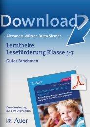 Lerntheke Leseförderung Klasse 5-7