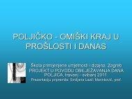 POLJICKO - OMISKI KRAJ U PROSLOSTI I DANAS.pdf - Škola ...