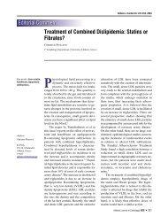Treatment of Combined Dislipidemia: Statins or Fibrates?