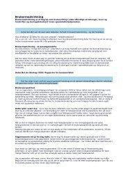 Artikkel om brukermedvirkning - Sykehuset Innlandet HF