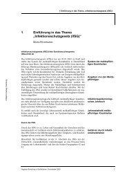 """1 Einführung in das Thema """"Infektionsschutzgesetz (IfSG)"""""""