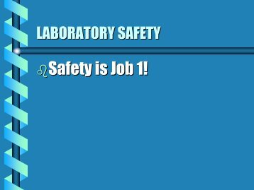 LAB SAFETY DEVICES
