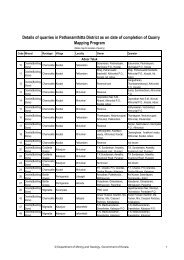 List of quarries - Department of Mining and Geology - Government of ...