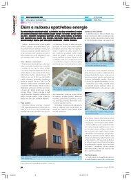 Dům s nulovou spotřebou energie - Stavebnictví a interiér