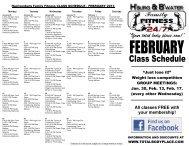 feb. class schedule - A Total Body Place