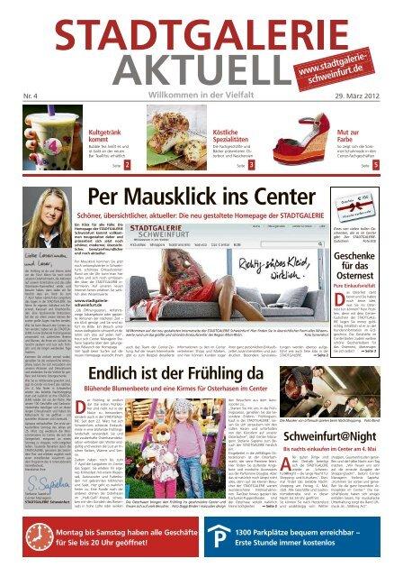 Per Mausklick ins Center - STADTGALERIE, Schweinfurt
