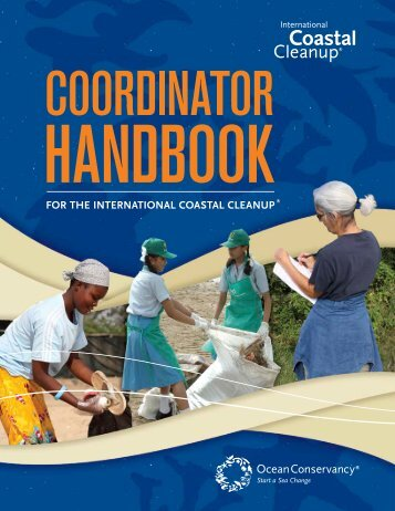 For the InternatIonal coastal cleanup - Ocean Conservancy