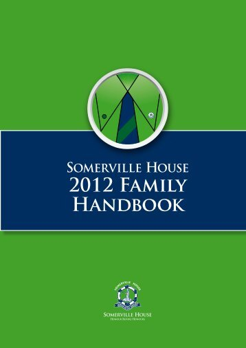 2012 Family Handbook - Somerville House