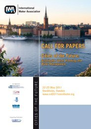 CALL FOR PAPERS - IWA
