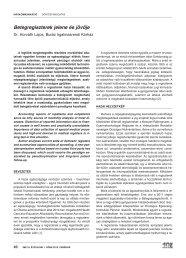 Betegrendszerek jelene és jövője - IME