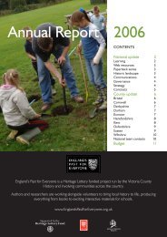 EPE Annual Report 2006 - Victoria County History