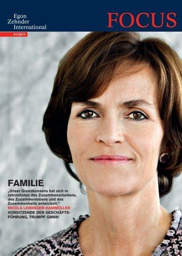 Familie - Egon Zehnder International