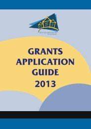 Grants Application Guide - 2013 English Version - The Foundation ...