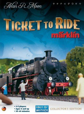 TTR2 marklin rules EN reprint 2013:TTR2 europe ... - Days of Wonder