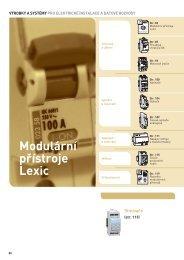 Katalog Legrand modulární přístroje v pdf - B + B Elektro