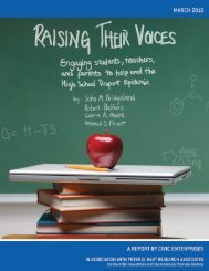 Raising Their Voices: Engaging Students, Teachers, and Parents to ...