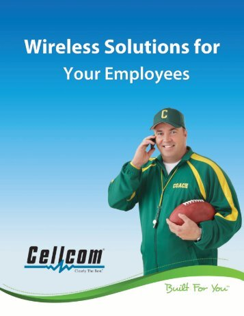 Business Employee Share Plan PROMOTIONAL OFFER - Cellcom