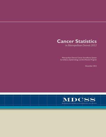 2012 Report of Cancer Statistics (PDF) - Karmanos Cancer Institute