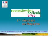 2000 2010 - Direction régionale de l'alimentation, de l'agriculture et ...