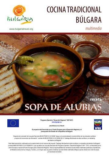 Receta - Sopa de alubias - Bulgaria Travel