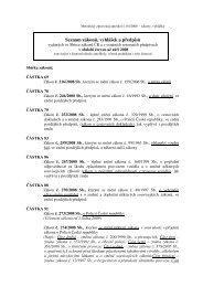 Seznam zákonu, vyhlášek a predpisů v období červen až září 2008