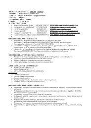 PROGETTO: Comenius (a.s. 2011/12 2012/13 ... - ICS Zanellato