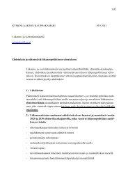 Kymenlaakson kauppakamarin ehdotuksia ja näkemyksiä ...