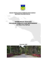 harmonisasi bantuan program pembangunan masyarakat di ... - UNDP