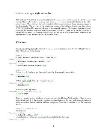 apa manuscript example