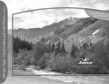 2004 Jay Flight™ Travel Trailer Floorplans - Jayco