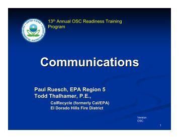 On-site Communication