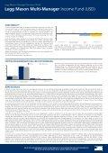 Legg Mason Multi-Manager Income Fund (USD)* - Seite 2