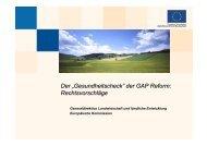 der GAP Reform