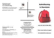 Katholikentag in Mannheim vom 16. bis 20. Mai 2012