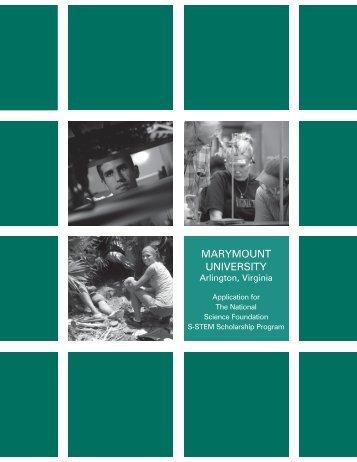 apply (PDF) - Marymount University in Arlington, Virginia