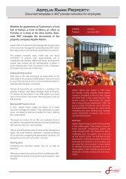 Aspelin Ramm Eiendom - Software Innovation