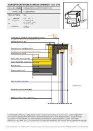 chassis de facade et toiture plate - Febelcem