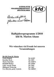 """Aschermittwoch/""""Ascherdonnerstag"""" der Frauen"""