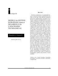 Modelo de Gestión Estratégica para el Desarrollo de