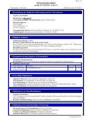 Sicherheitsdatenblatt - VOCO