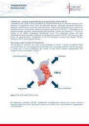 TRABEDERSEN Backgrounder - Antisense Pharma