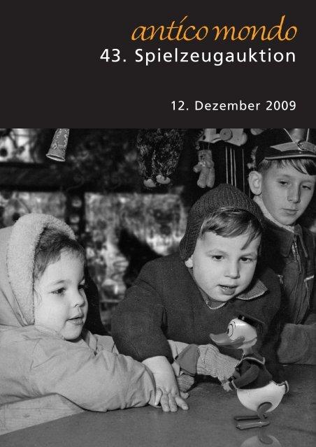 43. Spielzeugauktion - Antico Mondo
