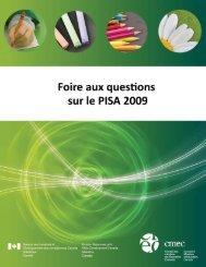PISA 2009 FAQ - Conseil des ministres de l'Éducation du Canada ...