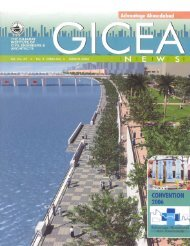 GICEA News, March
