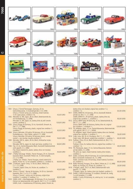 Katalog 7000er - Antico Mondo