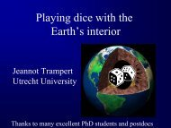 Playing dice with the Earth's interior - the SPICE Home page!