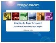Presentation - Integrating the Design Environment