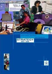 ISSstrategy doc - Belfast Education & Library Board