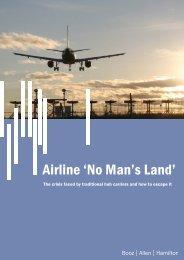 Airline 'No Man's Land' - Booz Allen Hamilton